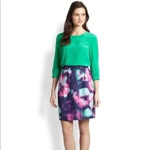 Kate Spade - Watercolor Barry Skirt NWOT